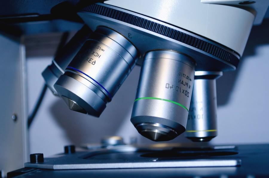 mikroskopom, biologija, znanost, objektiv, oprema, tehnologija
