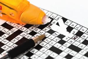pussel, spel, penna, word, logik