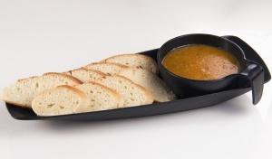 Pane, salsa, ciotola, cibo, panificio, pranzo, gastronomia, cucina