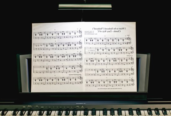 note, paper, piano, music, composition, instrument