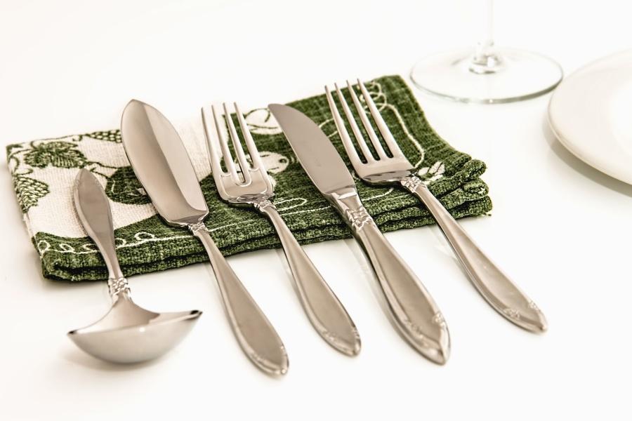 image libre cuill re fourchette couteau serviettes. Black Bedroom Furniture Sets. Home Design Ideas