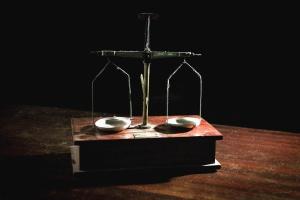 Misura, legno, metallo, tavola, struttura