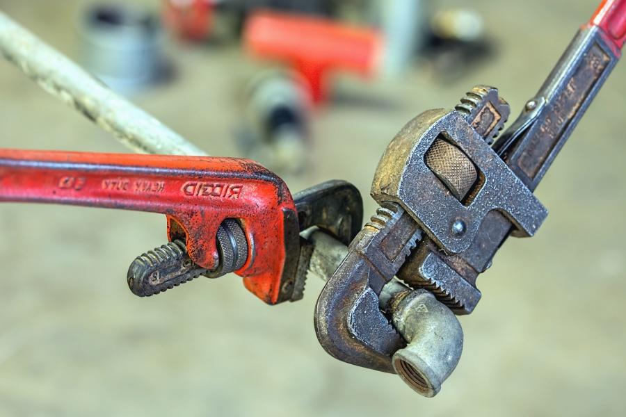 Imagen gratis tubo metal herramienta de mano llave - Herramientas de fontanero ...