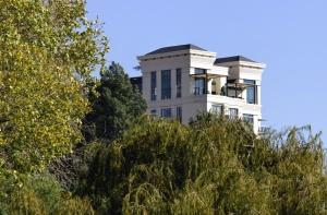 dům, architektura, budovy, tráva, strom, rostlina, obloha, fasády, sklo, terasa