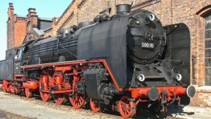 steam locomotive, steam engine, train, wheel, metal, engine, mechanics, steam