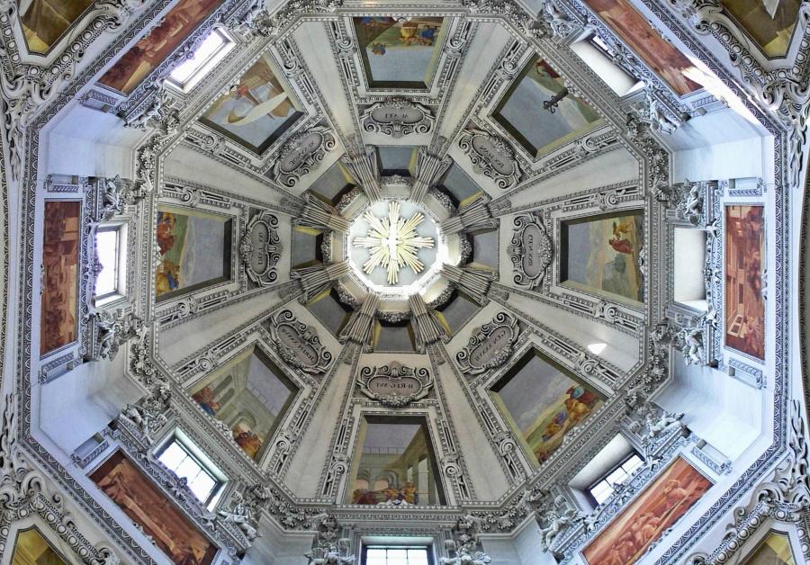arkitektur, dome, kirke, religion, tag, katedralen, tårn, turisme, rejser, udvendige