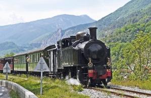 Lokomotive, Berg, Dampf, Rauch, Mechanik, Holz, Gras, Landschaft