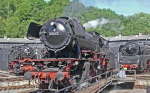steam locomotive, steam, metal, power, engine, mechanics, platform
