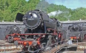 Dampflokomotive, dampf, metall, power, motor, mechaniker, plattform