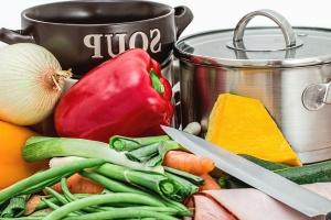 juusto, paprika, sipuli, kasvis, elintarvikkeiden, metalli, lounas, Keittiö