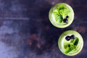 leaf, jar, berry, food, organic, diet, glass