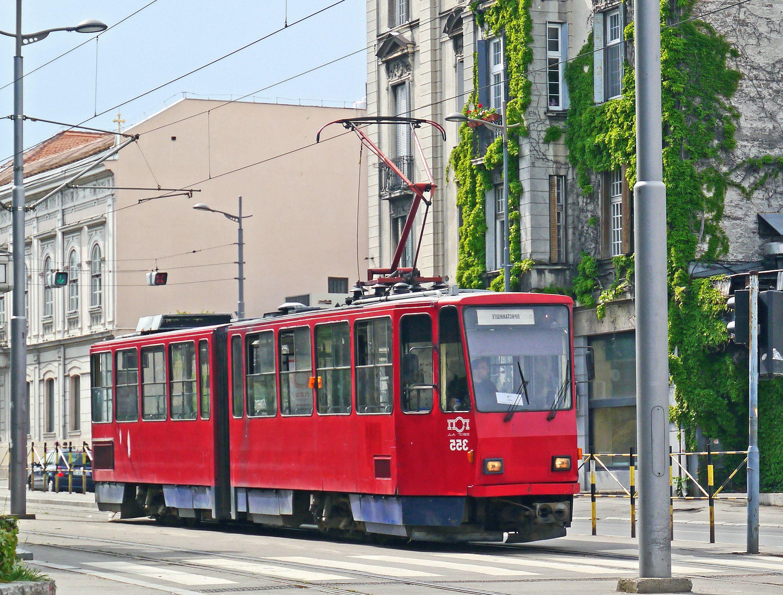 Поздравительной, картинка с трамваем