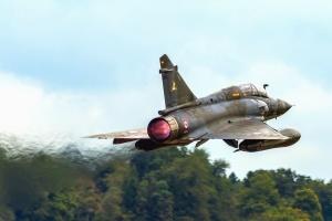 stridsflygplan, flygplan, flyg, skog, fordon, sky