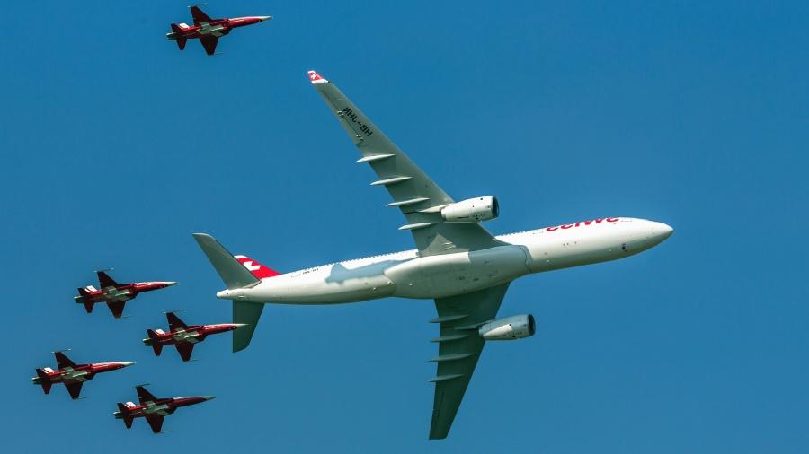 Jet, flygplan, flyg, airshow aviation