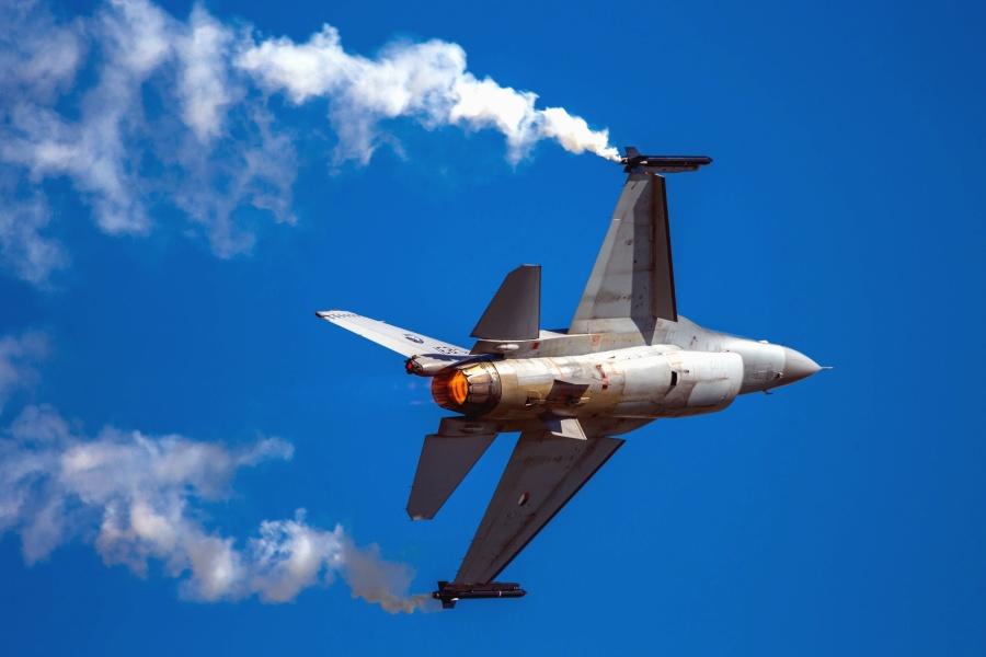 avião, jato, céu, militar, o foguete, metal