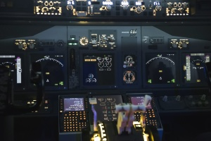 kokpit, teknologi, navigasi, perangkat, pesawat terbang, pilot