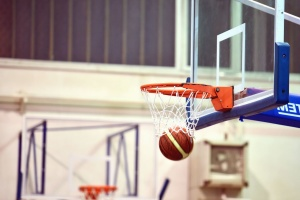 ball, basketball, sirkel, sport, kamp