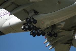 Roue, avion, transport, véhicule, aile