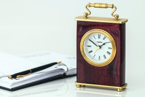 clock, timepiece, time, pencil, reminder, wood