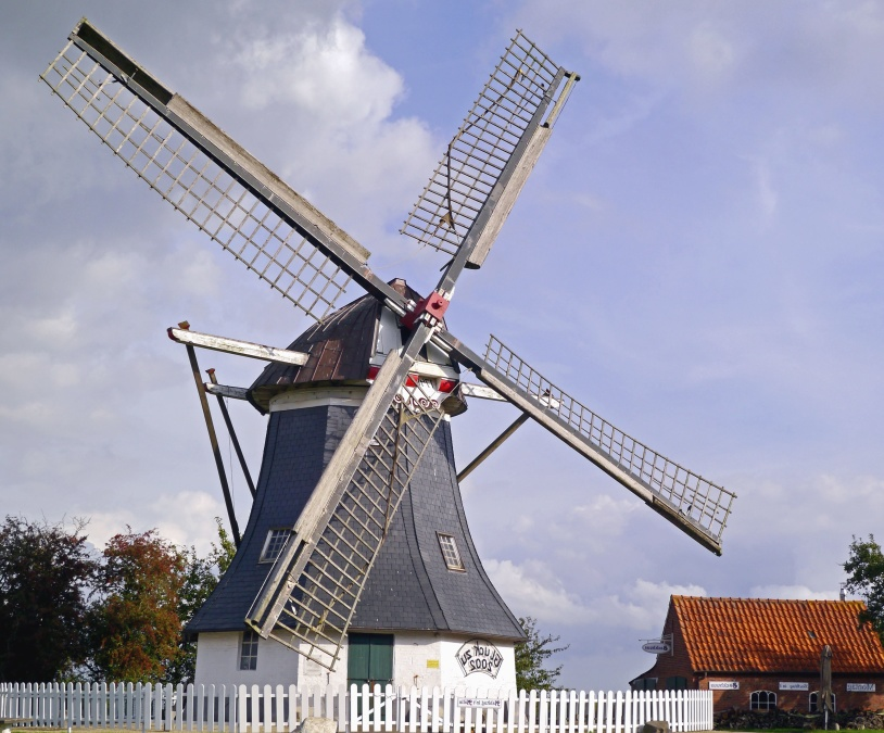free picture  windmill  construction  architecture  wind  power  house
