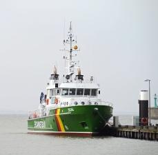 Tugboat, boot, meer, wasser, ozean, reise, fahrzeug