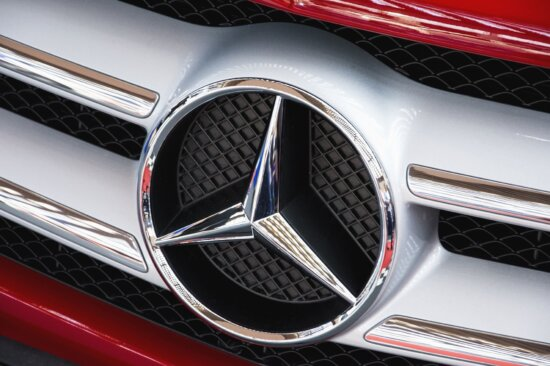 sign, chrome, car, metallic, red, vehicle, chrome, luxury