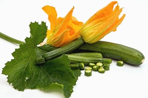 cucumber, flower, leaf, vegetable, organic, food, salad, diet