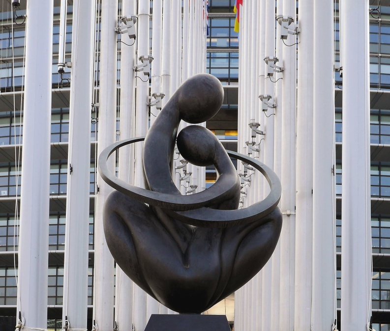 sculpture, man, architecture, art, metal