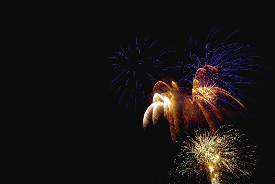 firework, night, star, sparkle, celebration, sky