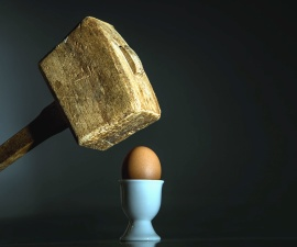 egg, holder, hammer, food, wood