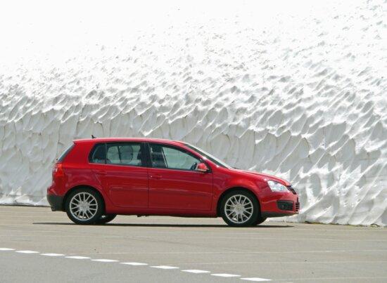 red, car, transport, vehicle, tire, asphalt, road