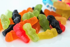 candy, rubber, food, sweet, color, gelatin