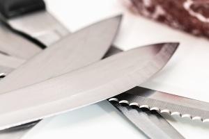knife, steel, metal, blade, kitchen