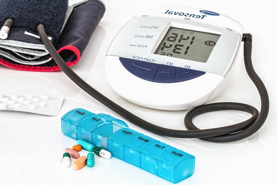 Pressione sanguigna, manometro, pnemumatica, medicina, salute, impulso, cuore