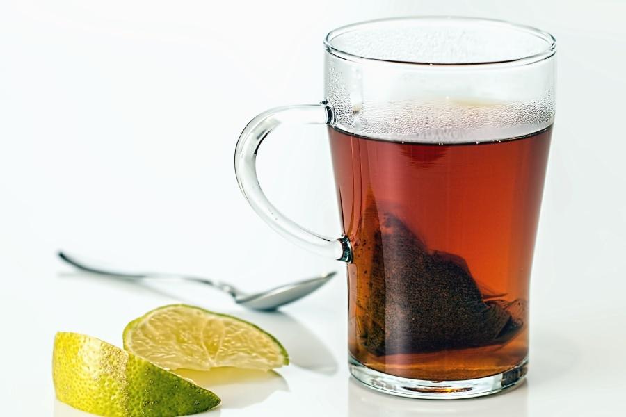 kostenlose bild tee trinken fruchtsaft glas zitrone l ffel gesundheit. Black Bedroom Furniture Sets. Home Design Ideas