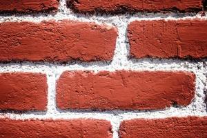 벽, 벽돌, 질감, 레드, 화이트