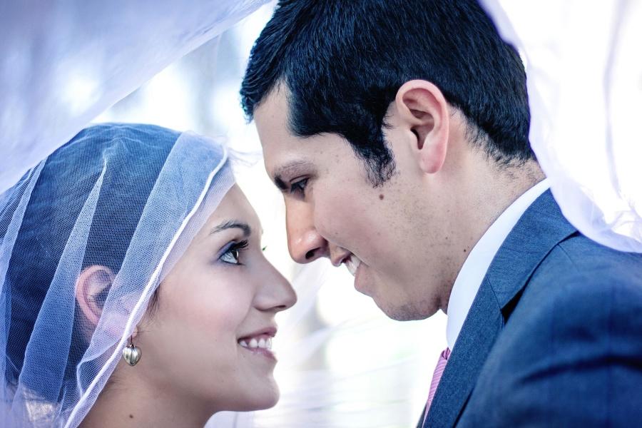 svadba, muž, žena, závoj, láska, manželstvo