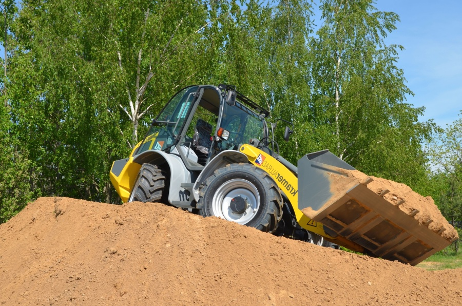 excavator, loader, country, machine, vehicle