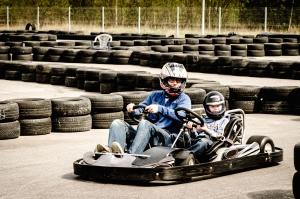 Carting, véhicule, vitesse, pneu, vitesse, sport