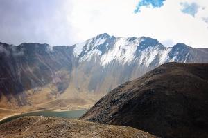 mountain, valley, river, snow, rock, coast
