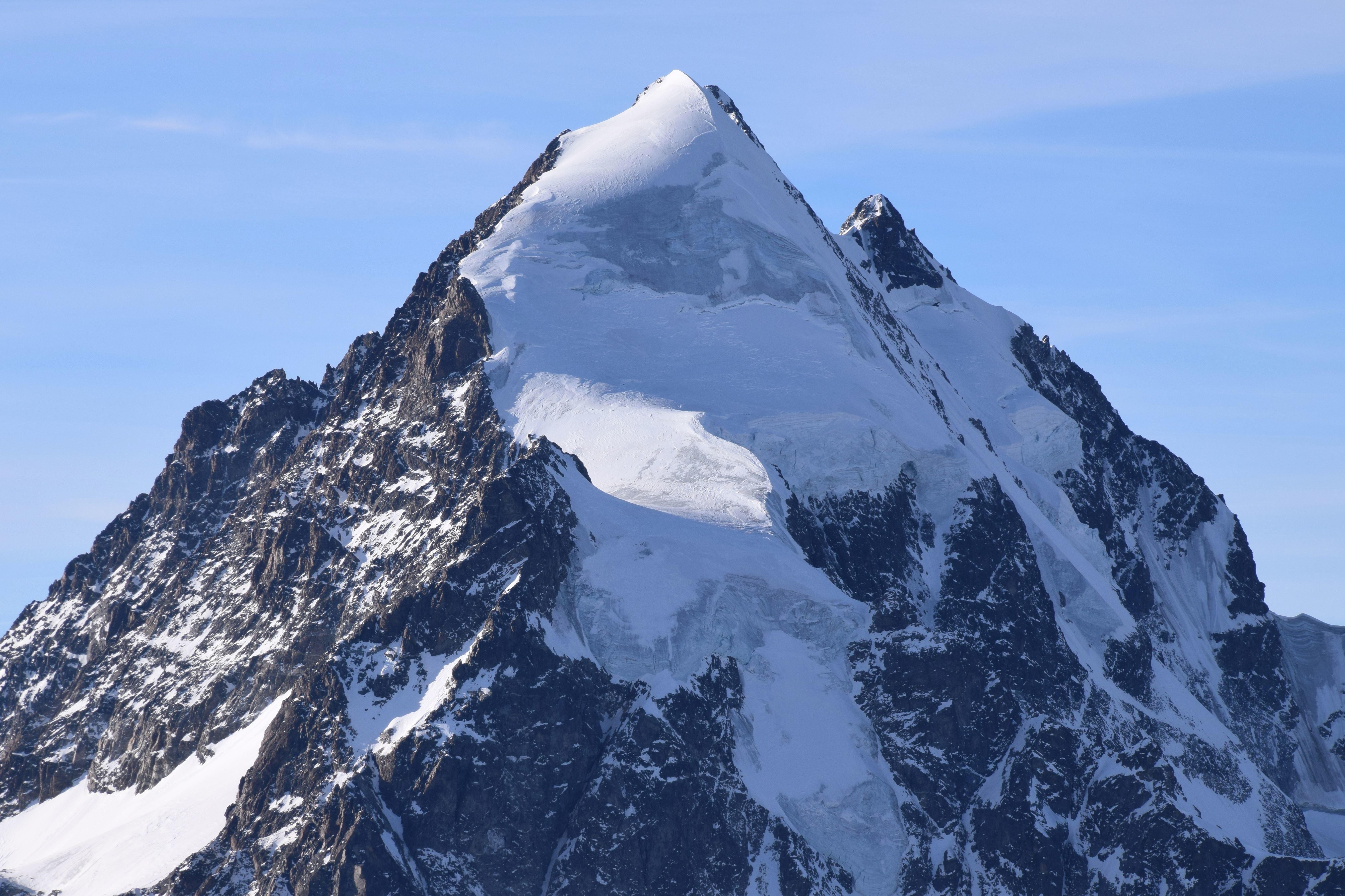 Una Montaña Nevada: Imagen Gratis: Montaña, Nieve, Invierno, Frío, Hielo