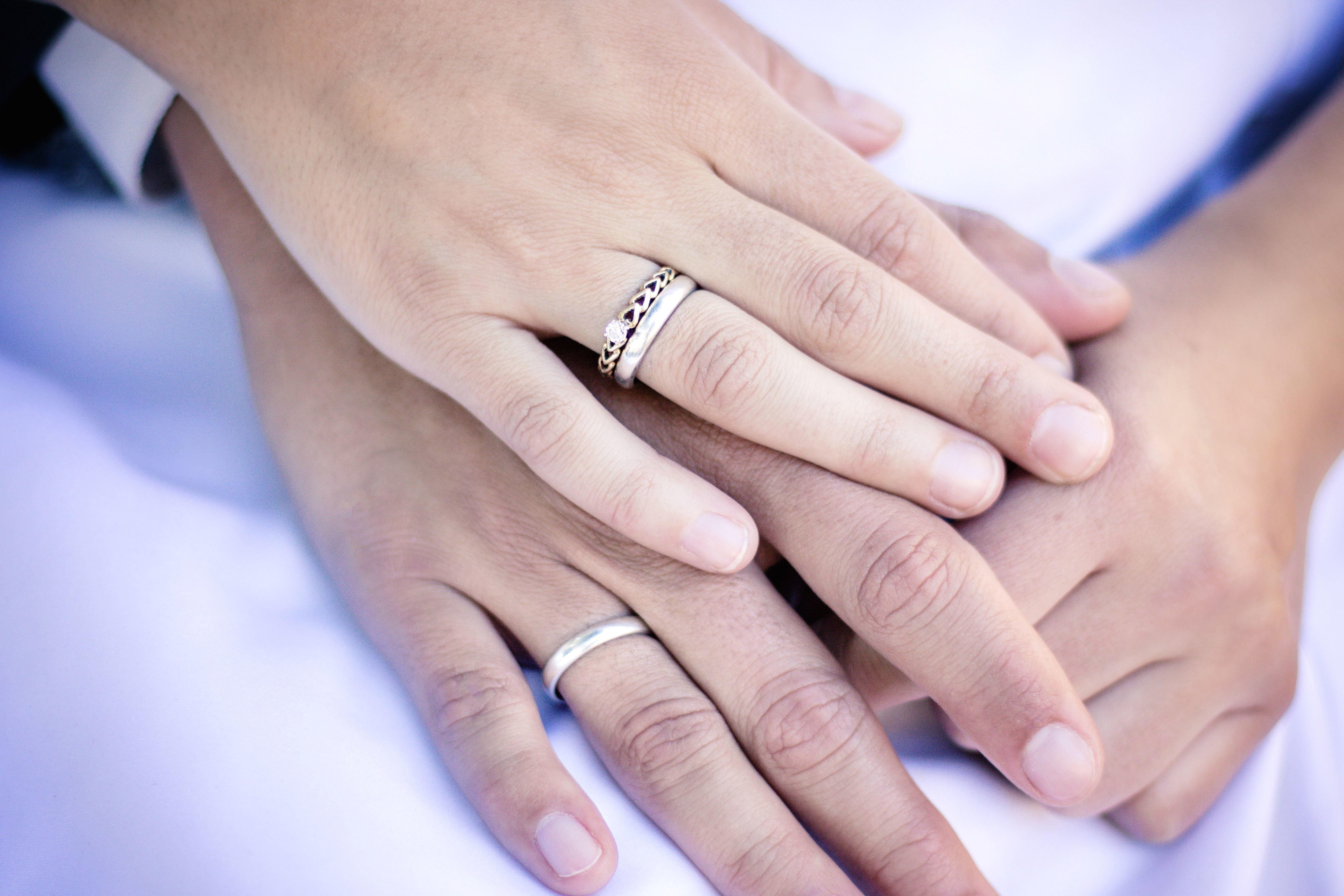 Free picture: hand, man, woman, ring, wedding, wedding, love