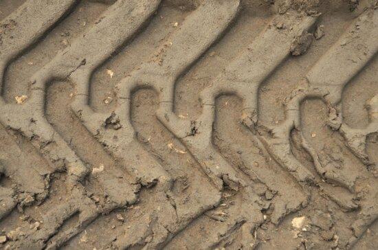Texture, sol, roue, pneu, trace