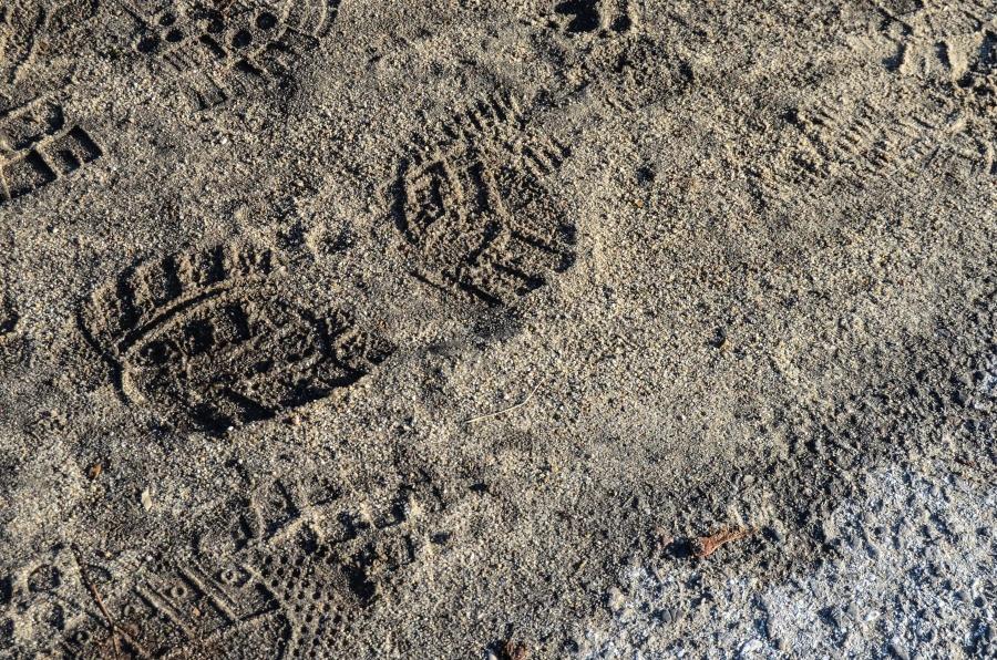 sand, trail, footwear, texture