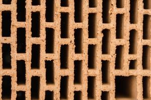 Clayi, textury, pečené, cihly, stavební materiál