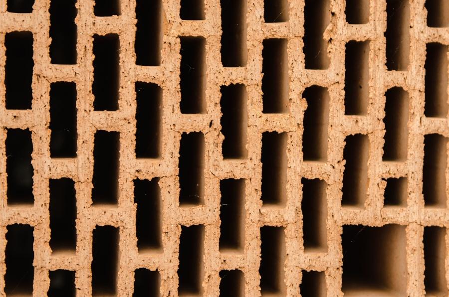 gliny, tekstura, pieczone, cegły, materiały budowlane