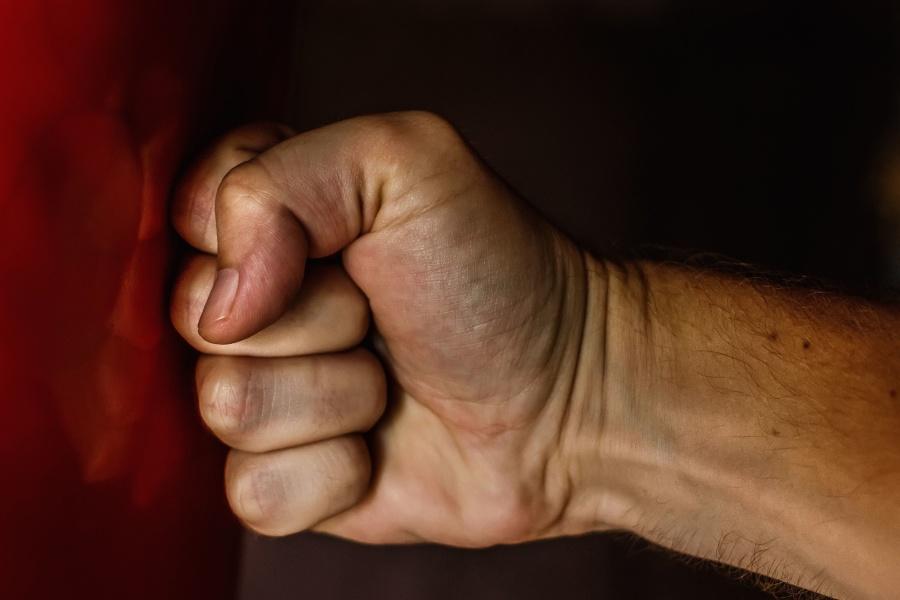 hand, finger, metal, reflection