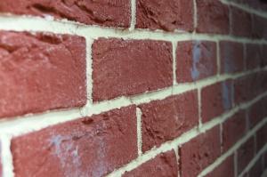 Brique, ciment, mur, architecture, construction