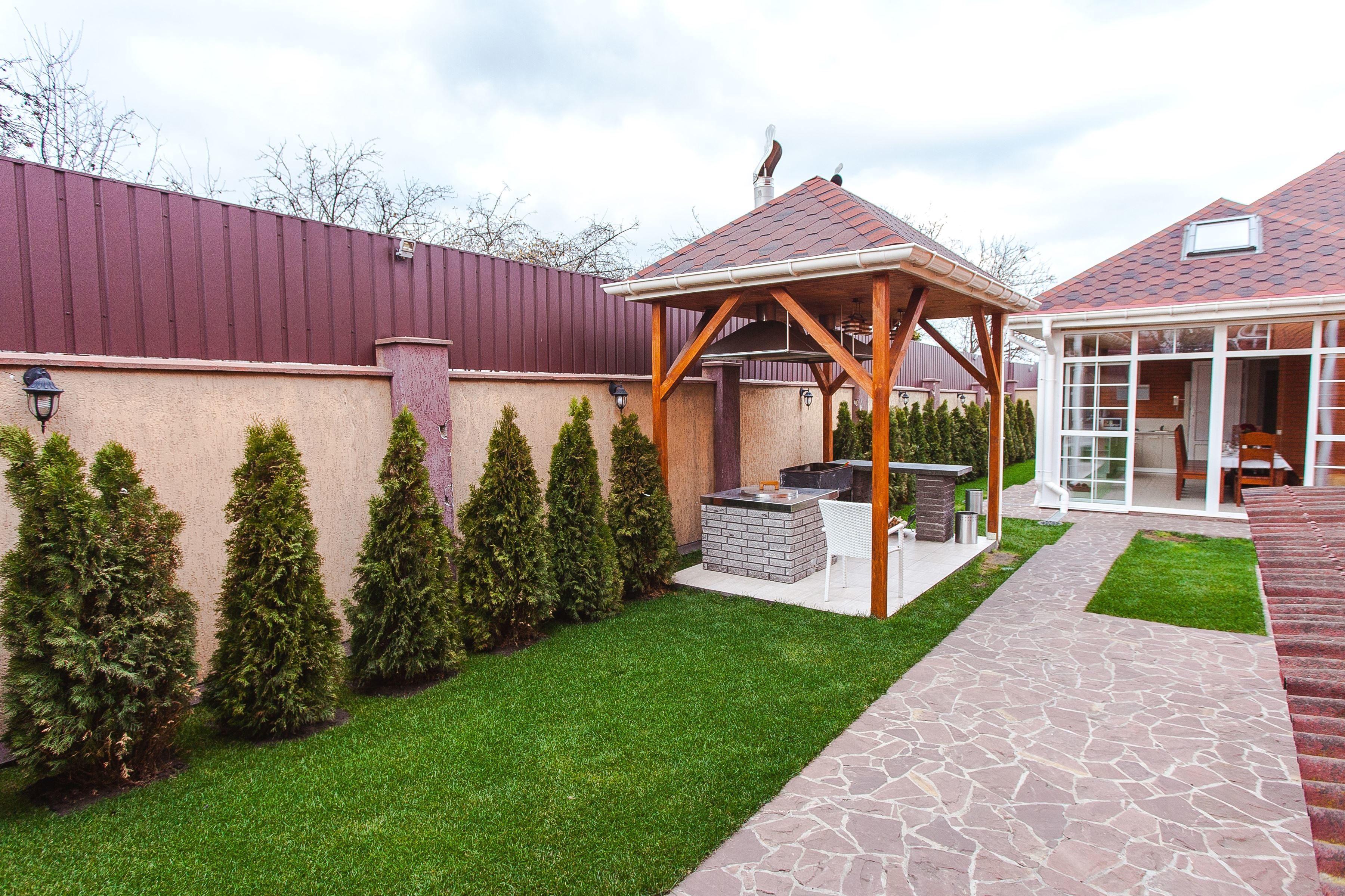 Kostenlose Bild Haus Architektur Grill Gras Pfad