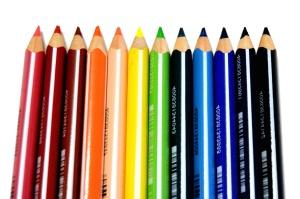 연필 드로잉, 색상, 사무실, 목재